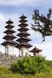 Beautiful pagodas hindu temples, Nusa Penida-Bali, Indonesia Royalty Free Stock Photo