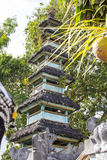 Beautiful pagodas hindu temples, Nusa Penida-Bali, Indonesia Stock Photos