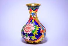 Beautiful painted vase Stock Photography