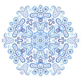 Beautiful paisley circle ornament Royalty Free Stock Photo
