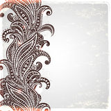Beautiful paisley ornament Stock Images