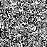 Beautiful Paisley pattern stock illustration