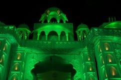 Beautiful palace celebration lighting Royalty Free Stock Photos