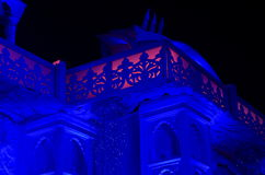 Beautiful Palace Celebration Lighting-VII Royalty Free Stock Photos