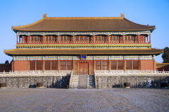 Beautiful palace in Forbidden City Royalty Free Stock Photos