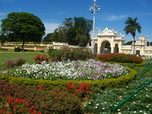 Beautiful Palace Garden-II Stock Photos