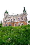 Beautiful palace in Lvov Royalty Free Stock Photos