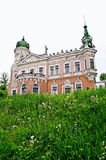 Beautiful palace in Lvov Stock Image