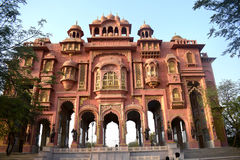 Beautiful Palace with many doors. Beautiful Palace of India with many doors in Pink Color royalty free stock photo