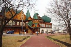 Beautiful palace of Tsar Alexei Mikhailovich, Royalty Free Stock Photos