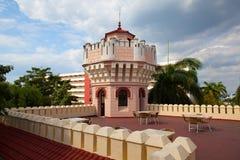 Beautiful Palacio de Valle in Cienfuegos near Jagua Hotel,Cuba Royalty Free Stock Photo
