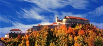 Beautiful Palanok Castle or Mukachevo Castle Royalty Free Stock Photo