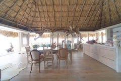 A beautiful Palapa House Stock Photo