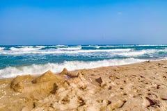 Beautiful Palombaggia beach Royalty Free Stock Photography