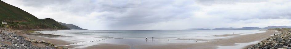 Beautiful panorama beach of Atlantic Ocean. Stock Image