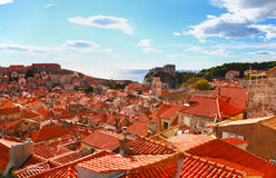 Beautiful panorama of Dubrovnik, Croatia Stock Photo