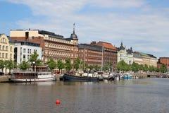 Beautiful panorama of Helsinki, Finland Stock Photo