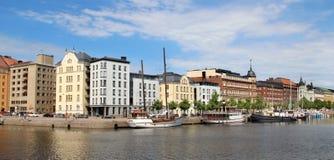 Beautiful panorama of Helsinki, Finland Royalty Free Stock Photo