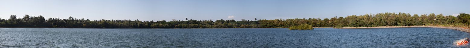 Beautiful panorama of lake Royalty Free Stock Photos