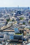 Beautiful panorama of London city taken from above, UK. Beautiful panorama of London city taken from above, United Kingdom royalty free stock photo