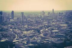 Beautiful panorama of London city taken from above, UK. Beautiful panorama of London city taken from above, United Kingdom stock images