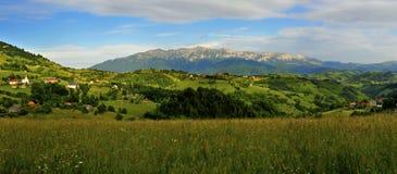 Beautiful panorama of magura village stock photo