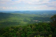 Beautiful panorama of the mountain. And beautiful sky Stock Images