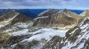 Beautiful panorama of mountains. In russia royalty free stock photo