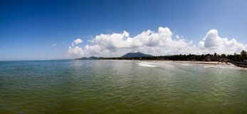 Beautiful panorama of ocean Stock Photography