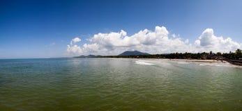 Beautiful panorama of ocean Stock Photography