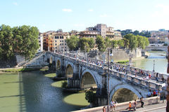 Beautiful panorama of Rome, Italy Stock Photo