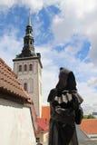 Beautiful panorama of Tallin, Estonia Stock Photo