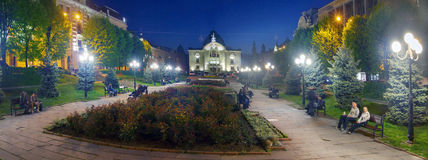 Beautiful panoramas in Chernivtsi Stock Photography