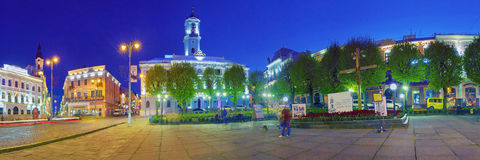 Beautiful panoramas in Chernivtsi Stock Images