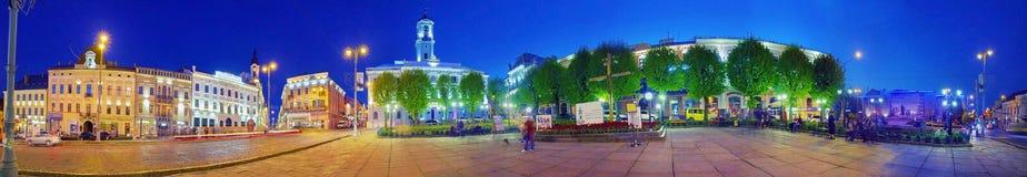 Beautiful panoramas in Chernivtsi Stock Photos
