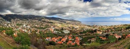 Funchal Madeira Panorama royalty free stock photos