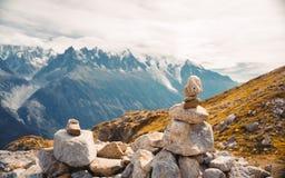 Beautiful panoramic nature in the mountains. stock photos