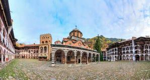 Rila monastery panorama Stock Images