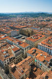 Beautiful panoramic view of Florence, Italy Stock Image