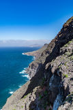 Beautiful panoramic view of Grand Canary (Gran Canaria) coastline landscape Royalty Free Stock Images