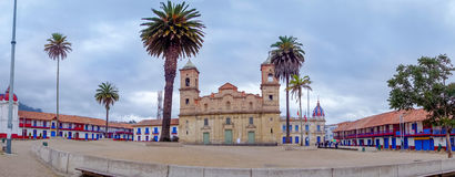 Beautiful panoramic view at the main square and Stock Photography