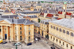 Beautiful panoramic view of Paris Royalty Free Stock Photo