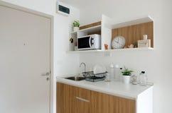 Beautiful pantry with utensil Stock Image