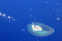 Beautiful Paracel Islands Royalty Free Stock Images