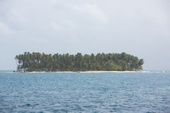 Beautiful paradise island, San Blas Stock Images