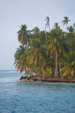 Beautiful paradise island, San Blas Stock Image