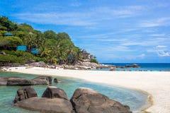 Beautiful Paradise Tropical Island Royalty Free Stock Photo