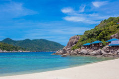 Beautiful Paradise Tropical Island Royalty Free Stock Photography
