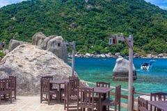 Beautiful Paradise Tropical Island, Koh Tao Royalty Free Stock Image