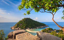 Beautiful Paradise Tropical Island Royalty Free Stock Photography